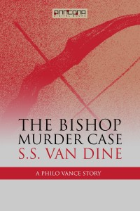Omslagsbild: The bishop murder case av
