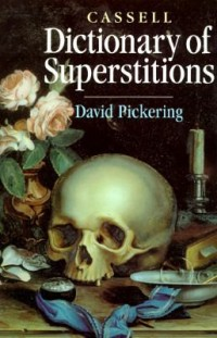 Book cover: Cassell dictionary of superstitions av