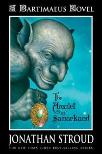 Omslagsbild: The amulet of Samarkand av