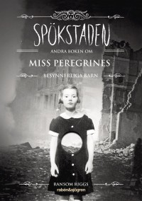 Book cover: Spökstaden av