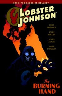 Omslagsbild: Lobster Johnson av