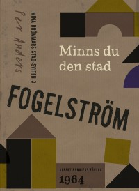 Book cover: Minns du den stad av