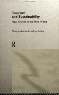 Book cover: Tourism and sustainability by