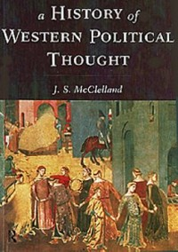 Book cover: A history of western political thought av