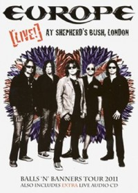Omslagsbild: Europe - (live!) at Shepherd's Bush, London av