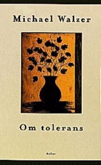 Book cover: Om tolerans by