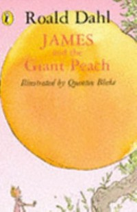 Book cover: James and the giant peach av