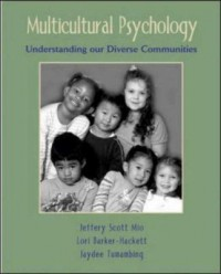 Book cover: Multicultural psychology by