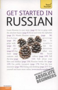 Book cover: Get started in Russian av