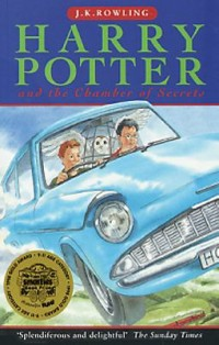 Book cover: Harry Potter and the chamber of secrets av