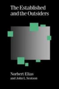 Book cover: The established and the outsiders av