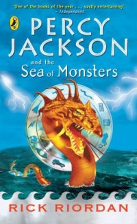 Omslagsbild: Percy Jackson and the sea of monsters av