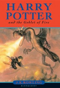 Book cover: Harry Potter and the goblet of fire av