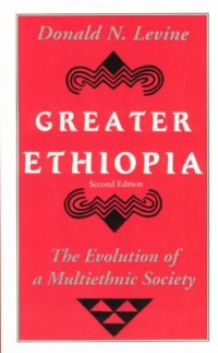 Book cover: Greater Ethiopia by