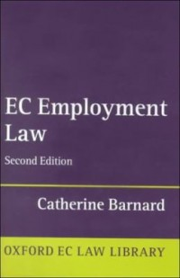 Omslagsbild: EC employment law av