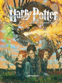 Book cover: Harry Potter och den flammande bägaren av