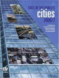 Book cover: The state of the world's cities by