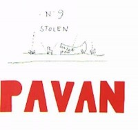 Book cover: Pavan av