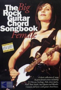 Omslagsbild: The big rock guitar chord songbook av