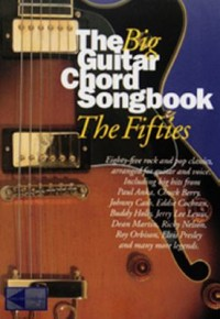 Omslagsbild: The big guitar chord songbook av