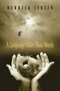 Book cover: A language older than words av