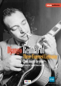 Omslagsbild: Django Reinhardt - three-fingered lightning av