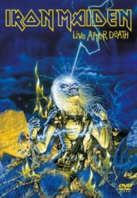 Omslagsbild: Live after death av