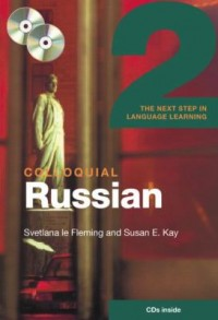 Book cover: Colloquial Russian 2 av