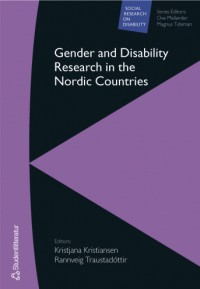 Omslagsbild: Gender and disability research in the Nordic countries av