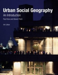 Book cover: Urban social geography av