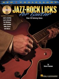 Omslagsbild: Jazz-rock licks for guitar av