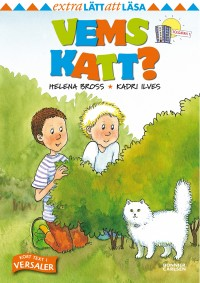 Book cover: Vems katt? av