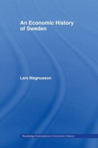 Omslagsbild: An economic history of Sweden av