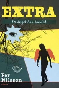 Book cover: En ängel har landat av