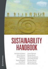 Book cover: Sustainability handbook by