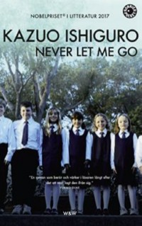 Book cover: Never let me go av