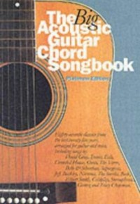 Omslagsbild: The big acoustic guitar chord songbook av