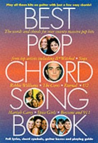 Omslagsbild: Best pop chord song-book av