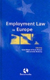 Omslagsbild: Employment law in Europe av