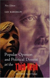 Omslagsbild: Popular opinion and political dissent in the Third Reich Bavaria 1933-1945 av