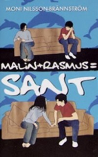 Cover art: Malin + Rasmus = sant by