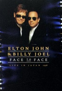 Omslagsbild: Face to face - Elton John, Billy Joel av
