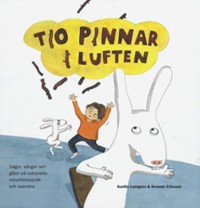 Book cover: Tio pinnar i luften av