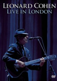 Omslagsbild: Leonard Cohen live in London av