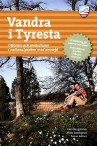 Book cover: Vandra i Tyresta by