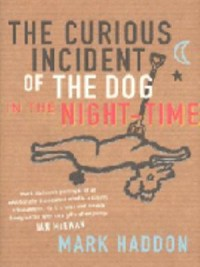 Book cover: The curious incident of the dog in the night-time av