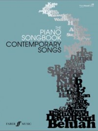 Omslagsbild: The piano songbook contemporary songs av