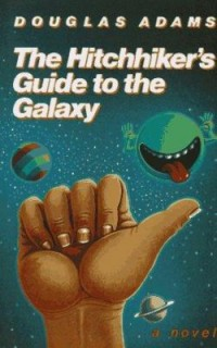 Omslagsbild: The hitchhiker's guide to the galaxy av