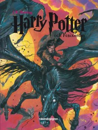 Book cover: Harry Potter och Fenixorden av