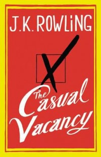 Book cover: The casual vacancy av